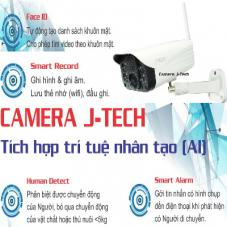 CAMERA IP J-TECH AI8208S (2MP, AI, WIFI)