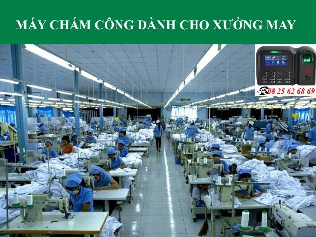 may cham cong van tay cho xuong may - cong ty may mac