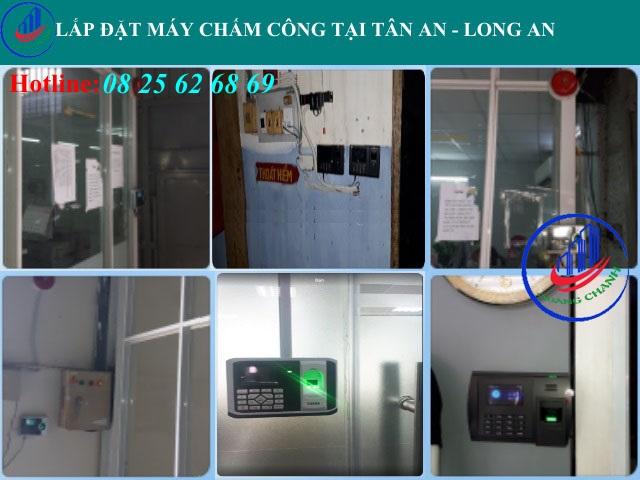 may cham cong cac loai tai tan an - long an