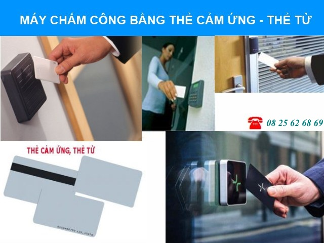 may cham cong the cam ung