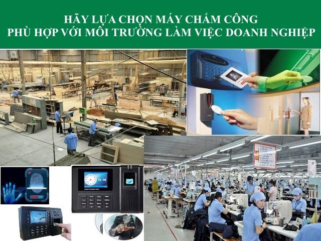 Lắp đặt máy chấm công vân tay tại quận Bình Tân - Tp Hồ Chí Minh - 1