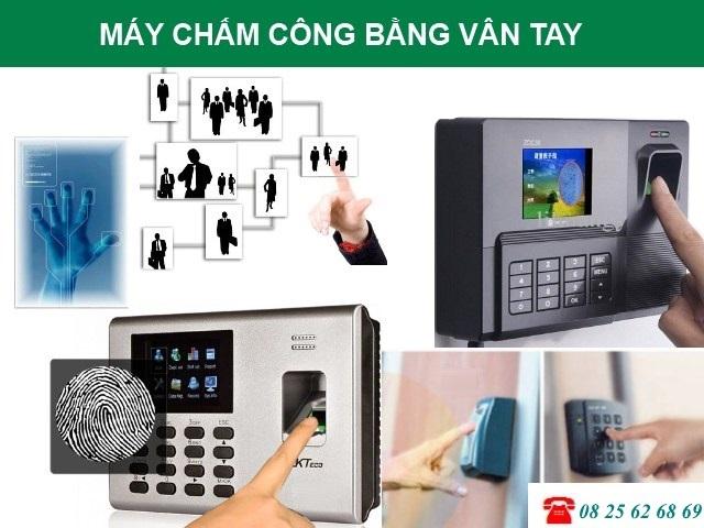 may cham cong Long An