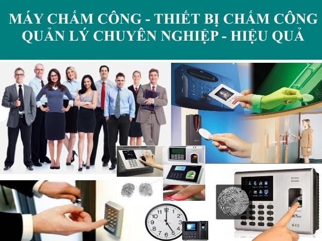 Lắp đặt máy chấm công vân tay tại quận Bình Tân - Tp Hồ Chí Minh