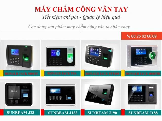 may cham cong van tay tai Tan Quy Tan Phu