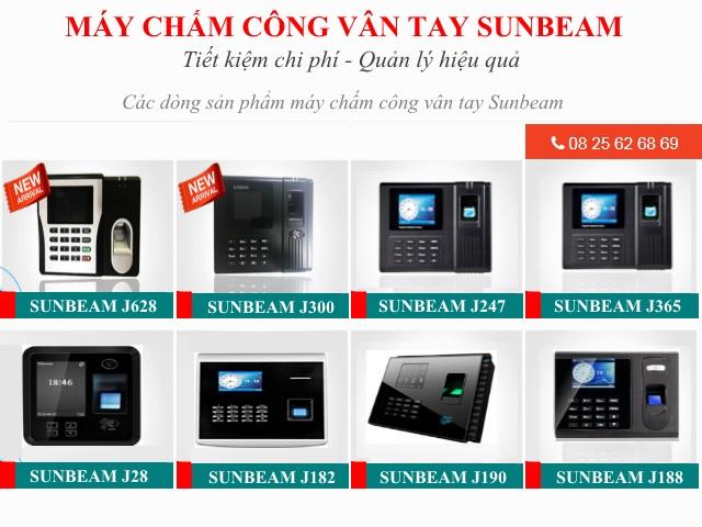phan phoi may cham cong tai Binh Duong