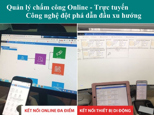 quan ly cham cong online